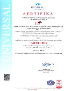 UNIVERSAL SERİTİFİKA